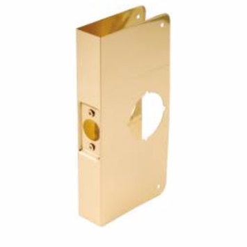 Don-jo Don Jo LP-312-DU Latch Protector, Outswinging Door 12 Duronotic