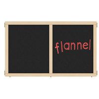 Jonti-Craft KYDZ Suite Flannel Chalkboard