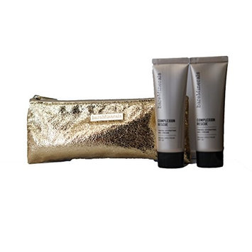 bareMinerals Complexion Rescue Tinted Hydrating Gel Cream - Buttercream 03 (20 ml/0.68 oz) Set of 2 & Make Up Bag