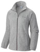 Columbia Women's Benton Springs Full Zip Fleece Jacket - Large - Light Gray