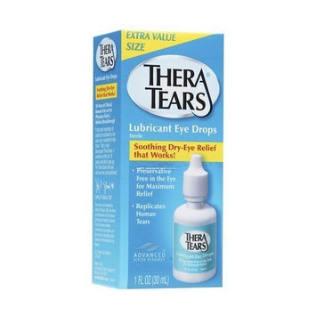 Thera Tears Thera Tears Lubricant Eye Drops, 1 oz (Pack of 2)