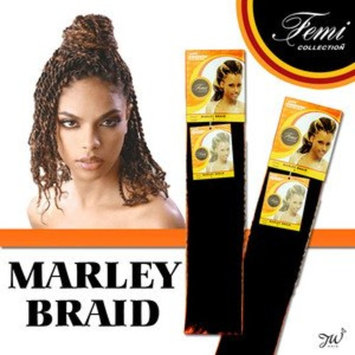 Femi Collection Marley Braid 100% Kanekalon (COLOR: #27, #30, #33 (#27)