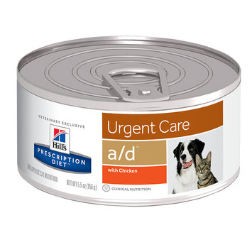 Hills Prescription Diet Canine & Feline AD Canned 156g x 24