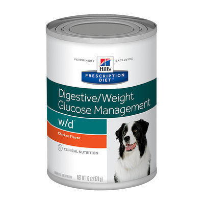 Hill's Prescription Diet w/d Canine Digestive/Weight/Glucose