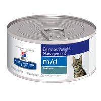 Hills Prescription Diet Feline MD Canned Liver 156g x 24