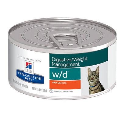 Hills - Feline Prescription Diet Hills Prescription Diet Feline W/D with Chicken Canned