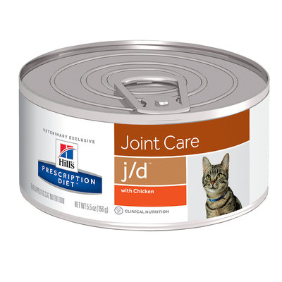 Hills Prescription Diet Feline JD Canned Chicken 156g x 24