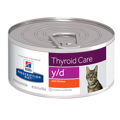 Hills Feline Y-D Thyroid Health Cat Food