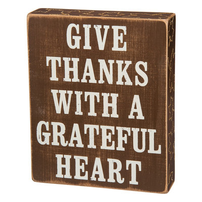 Kohls Give Thanks Grateful Heart