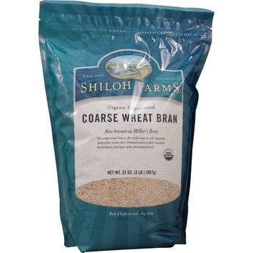 Shiloh Farms Organic Coarse Wheat Bran Unprocessed -- 32 oz(Pack of 3)