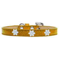 Mirage Pet Products 101-01 10BK Crystal Ice Cream Collars Black 10