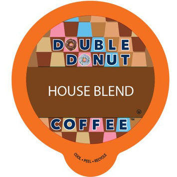 Double Donut House Blend Roast Coffee, in Recyclable Single Serve Cups for Keurig K-Cup Brewers, 80 Count