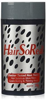 Hsr-lbrown Hair So Real, HSR Hair Loss, Concealer, Hair Building Fiber - 28g Light Brown