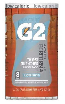 GATORADE 131604 Sports Drink Mix, Glacier Freeze, PK8