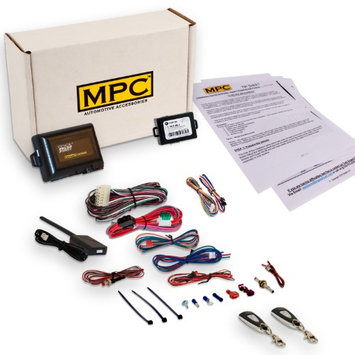 Mpc Complete 1-Button Remote Start Kit For 2008-2009 Mazda B2300 Includes Bypass and (2) Extended Range Remotes