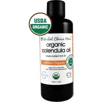 Herbal Choice Mari Organic Calendula Oil; 3.4floz