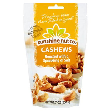 The Sunshine Nut Company, Llc Sunshine Nut Company, Cashews Roasted Salted, 7 Oz (Pack Of 12)