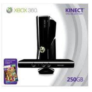 Microsoft Corp. Xbox 360 - Xbox 360 System - 250GB Kinect Bundle