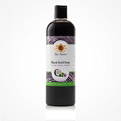 Gye Nyame Black Seed Liquid Soap Coconut~Lime~Verbena