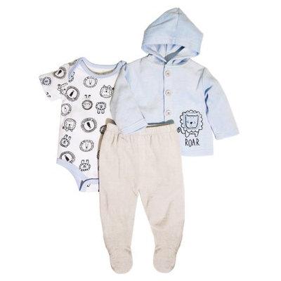 Rene Rofe Baby Rene Rofe Newborn Baby Boy Velour Jacket 3pc Set