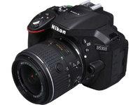 Nikon D5300 DSLR Camera with 18-55mm Lens (Black) + (Pro Tripod/Monopod Kit)