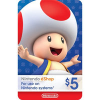 eCash - Nintendo eShop Gift Card $5 (Email Delivery)