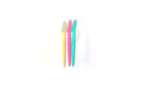 Yphone 3-Pack: Tinkle Colorful Eyebrow Razors with Stainless