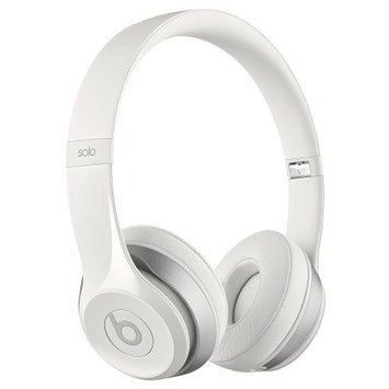 Beats by Dr. Dre Solo2 Wired On-Ear Headphone - White