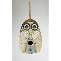 Songbird Essentials SE984 Blue Owl Birdhouse