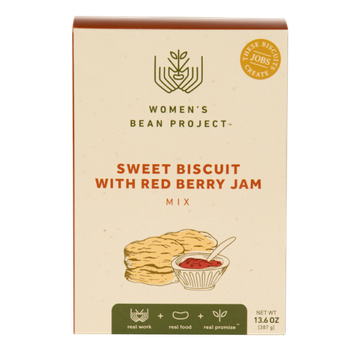 Women's Bean Project Sweet Biscuit Mix with Red Berry Jam Mix, 13.6 oz. box