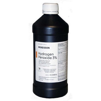 McKesson - Hydrogen Peroxide - 16 oz. Solution - Bottle - McK