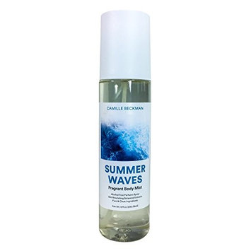 Camille Beckman Fragrant Body Mist, Alcohol Free, Summer Waves, 8 Ounce [Summer Waves]