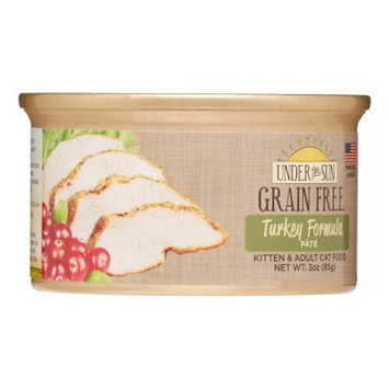 Animal Supply Company CD82047 Grain Free Cat Turkey - 3 oz.