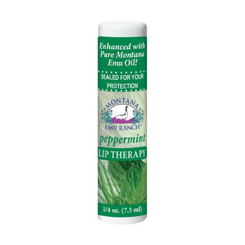 Lip Therapy Peppermint - Laid In Montana - 0.25 oz - Balm