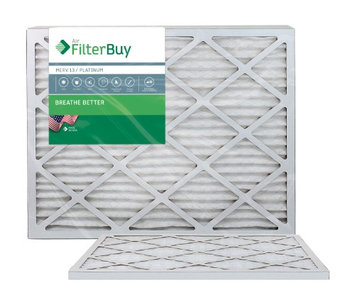 AFB Platinum MERV 13 20x24x1 Pleated AC Furnace Air Filter. Filters. 100% produced in the USA. (Pack of 2)
