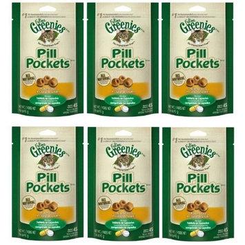Greenies FELINE PILL POCKETS Cat Treats [Standard Packaging, Chicken]