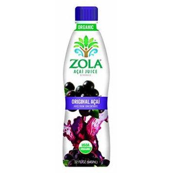 Zola Brazilian Superfruits Acai Original Juice, 32-Ounce Bottles (Pack of 8)