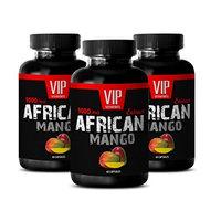 Digestive support supplements - AFRICAN MANGO DIET PILLS - Irvingia gabonensis natural - 3 Bottles 180 capsules