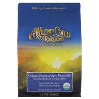 Mt. Whitney Coffee Roasters, Organic Sumatra Gayo Mountain, Ground Coffee, Medium Plus Roast, 12 oz (340 g) [Flavor : Sumatra]