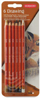 Derwent Drawing Colored Pencil (Set of 6)
