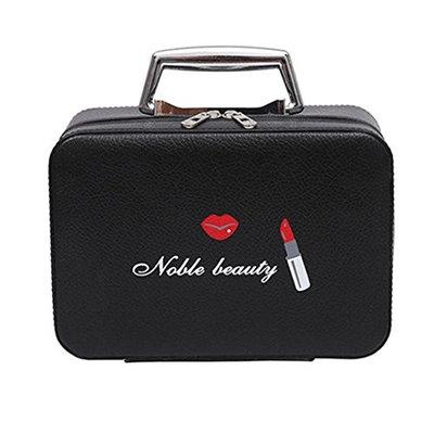 Travel Makeup Bag,ChainSee Portable Mini Zipper Cosmetic Travel Organizer Accessories Jewelry Toiletries Train Case Storage