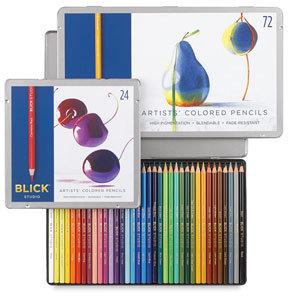 Blick Studio Artists' Colored Pencil Sets