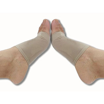 Dr. Anderson Arch Support Inserts - Plantar Fasciitis Arch Sleeve Wrap Shoe Insert with Comfort Gel Cushions to Relieve Pain from Plantar Fasciitis and Flat or Fallen Arches