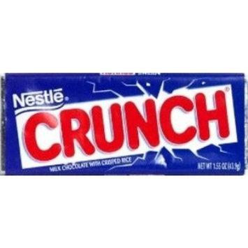 Nestlé Crunch Milk Chocolate Bar, 1.55 Oz.(Pack of 6)