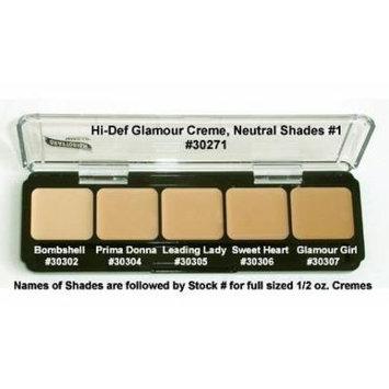 HD High-Definition Glamour Creme Palette, Neutral #1