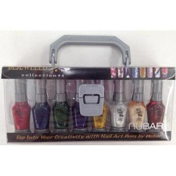 Nubar 2 Way Nail Art Pen Striper Bejeweled Collection #4