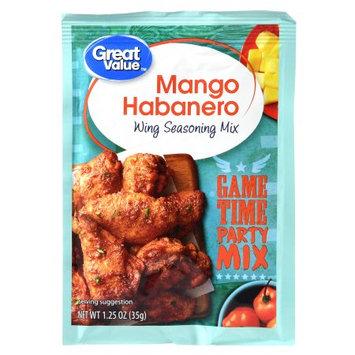 Great Value Mango Habanero Wing Seasoning Mix