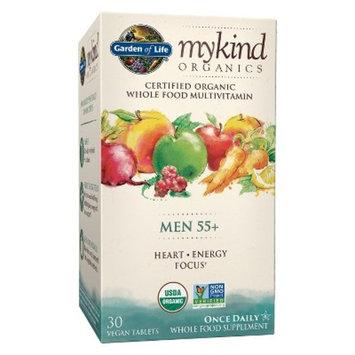 Garden of Life My Kind Organic Men's 55+ Multivitamin Tablets - 30ct