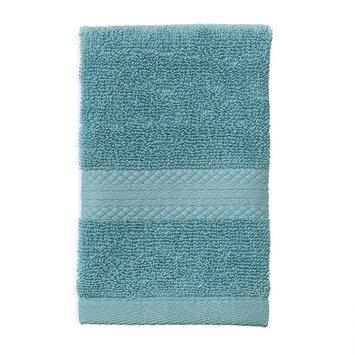 Martex Abundance Solid Washcloth, Turquoise/Blue (Turq/Aqua)