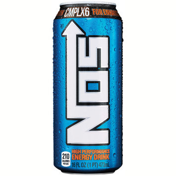 NOS Original High Performance Energy Drink 16 oz cans - Pack of 24